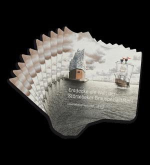 Störtebeker Elbphilharmonie Bierdeckel-Set 10 Stk.