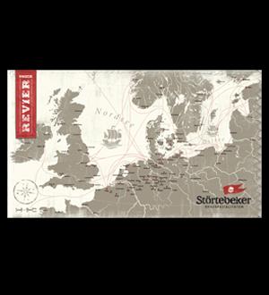 Störtebeker Seekarte Wandkarte (1 Pack)